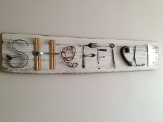 Items similar to lettered junk folk art sign on outsider antique vintage old barn wood handmade original art on Etsy