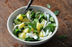 Savory Pineapple Salad {Paleo} Recipe on Yummly
