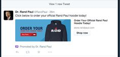 Rand Paul Merchandise Rand Paul, Political Ads, Campaign, Politics