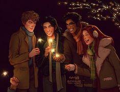 Hogwarts Matchmaking Central (Marauders Era)