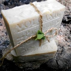 Artisan Natural Soap Volcanic Ash with Patchouli PIN US!