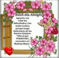 SUEÑOS DE AMOR Y MAGIA: Buen día para todos.