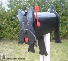 Dog mailboxes  Scottish Terrier mailbox by mimidev on Etsy