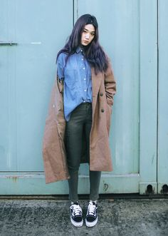 The Best Street Style winter 2017 trends I Love Fashion, Girl Fashion, Autumn Fashion, Fashion Outfits, Womens Fashion, Fashion Trends, Asian Street Style, Korean Street Fashion, Asian Fashion