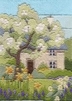 Spring Garden Long Stitch Kit from Derwentwater Designs