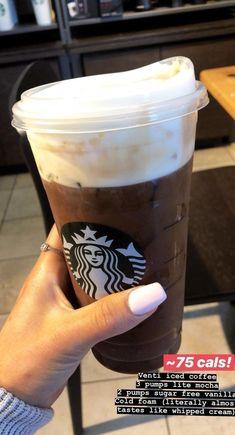 Super Delicious Secret Menu Starbucks Drinks – Yummy recipes – Grandcrafter – DIY Christmas Ideas ♥ Homes Decoration Ideas Starbucks Hacks, Bebidas Do Starbucks, Healthy Starbucks Drinks, Secret Starbucks Drinks, Starbucks Secret Menu Drinks, Yummy Drinks, Healthy Drinks, Healthy Foods, Low Cal Starbucks Drinks