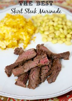 The Best Skirt Steak Marinade - also great on flank steak or NY Strips