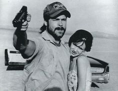 "Brad Pitt & Juliette Lewis in ""Kalifornia"""