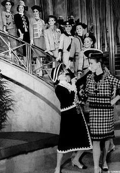 vintage chanel fashion