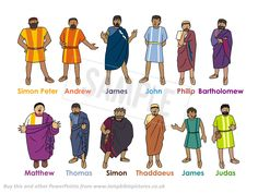 A PowerPoint about Choosing the 12 disciples. Clear, simple, child-friendly and historically accurate.