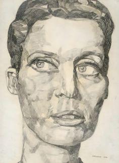 Eugen Schönebeck, Portrait Liz Kertelge, 1966
