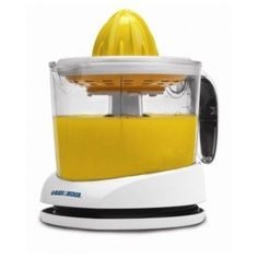 With this Black & Decker Citrus Orange/Lemon/Lime/Grapefruit Juicer you can enjoy fresh-squeezed citrus juice right when you want it. Get all the juice you Hand Juicer, Fruit Juicer, Citrus Juicer, Kitchen Tools, Kitchen Gadgets, Kitchen Dining, Kitchen Supplies, Test Kitchen, Kitchen Items