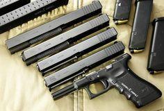 Comparativa correderas Glock