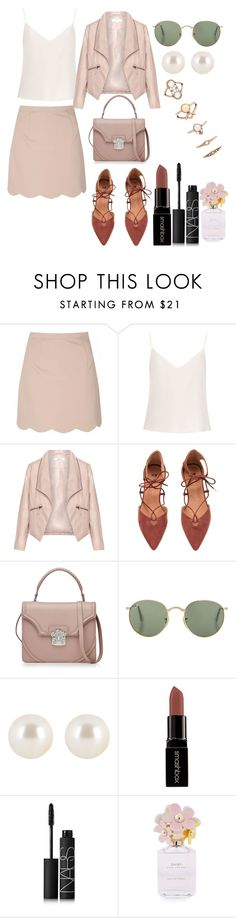 """""""Untitled #4063"""" by dudas2pinheiro ❤ liked on Polyvore featuring Glamorous, Raey, Zizzi, Alexander McQueen, Henri Bendel, Smashbox, NARS Cosmetics, Marc Jacobs and Forever 21"""