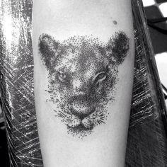 https://flic.kr/p/umkmN7 | Dotwork lion tattoo