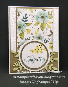 Miriam Castanho-Bollinger, #mstampinwithyou, stampin up, demonstrator, dsc, sympathy card, whole lot of lovely dsp, rose wonder stamp set, beautiful bunch, Beautiful Bouquet stamp set, big shot, stitched shapes framelits, layering circles, filigree frame tief, su