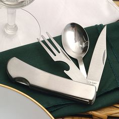 The KA-BAR Hobo; we're not sure who invented it, but we're glad they did. This is the classic slide-apart outdoor dining kit. Made of durable 420 stainless steel, each utensil separates for the versatility of 3 separate utensils. Includes spoon, lock-b Best Dad Gifts, Gifts For Dad, Father's Day Unique Gifts, Ka Bar Knives, Armor For Sale, Raksha Bandhan Gifts, Hiking Accessories, Best Hunting Knives, Camping