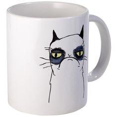 Grumpy Cat Mug by Cafe Press