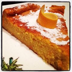 Mon gâteau orange et butternut.... On cuisine la courge en dessert et on en redemande ! - Le blog de cuisineetcitations-leblog