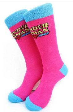 2016 Fashion USA Cartoon Brand Mens Sock Superheroes Simpsons Family Skate Tube Funny Socks Cotton Knee High Sox Men 565w