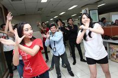 Yona, Lidya dan Shania JKT48 Ajak HAI Party dan Nari-Nari - HAI Online
