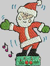 Free Christmas tajima .dst machine embroidery patterns