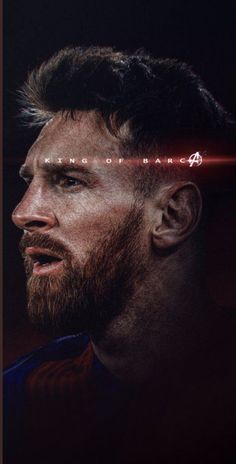 Messi wallpaper with King of Barcelona caption. This HD wallpaper is suitable for all kind of mobile phones. Messi Logo, Messi Vs, Messi Soccer, Messi And Ronaldo, Cristiano Ronaldo, Lionel Messi Wallpapers, Ronaldo Wallpapers, Real Madrid Manchester United, Messi Photos