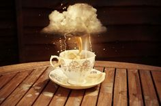 Storm in a teacup (UK idiom)
