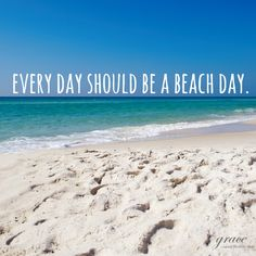 """Every day should be a beach day"" #beachtowel"