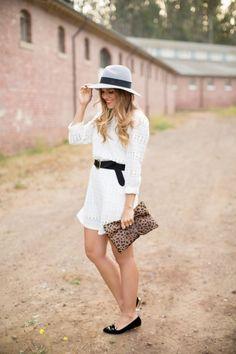 Gal Meets Glam- Little White Dress