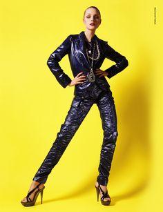 """chanelresort: """" Jessica Stam by Steven Meisel for Lanvin S/S 2007 """""""