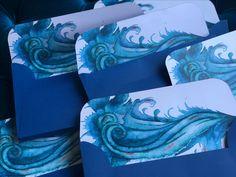 Blue Wave custom envelop