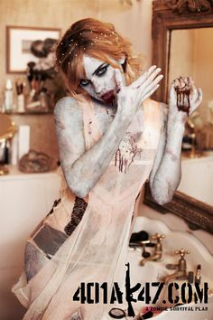 And let the fun begin - Emma Watson by Ellen Von Unwerth for Vs. Zombie Pin Up, Zombie Art, Ellen Von Unwerth, Emma Watson Bra Size, Inspirational Celebrity Quotes, Emma Watson See Through, Beautiful Redhead, Beautiful People, Stars