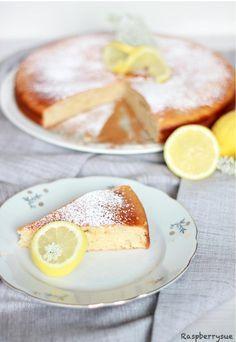 Zitronenkuchen mit Quark