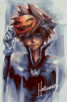Halloween Town Sora -The best costume in the entire game. Props to the artist.