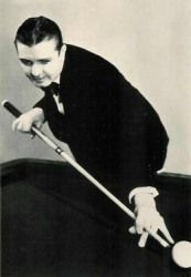 """◾Ralph """"The Showman"""" Greenleaf: (1899-1950) One of the game's first true showmen, his New York Times obituary said """"What Babe Ruth did for baseball, Dempsey did for fighting, Tilden did for tennis…Greenleaf did for pocket billiards"""" He was in the first group of players inducted into the BCA Hall of Fame in 1966. He won his first world title in 1919 and defended it nine straight times. He put on trick-shot exhibitions, complete with a mirror over the table to enhance the view for the audience..."""