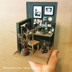 Miniature workspace♡ ♡ By Takao Kojima