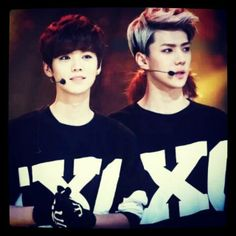 #LuHan #Luhan #SeHun #Sehun #HunHan #EXO #EXOM #EXOK #Kpop #Cute #Couple