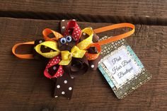 Items similar to Baby's Thanksgiving Bow, Ribbon Sculpted Turkey Baby Hair Bow, Thanksgiving Baby Headband, Thanksgiving Hair bow on Etsy Babys First Thanksgiving, Thanksgiving Hair Bows, Thanksgiving Turkey, Pink Hair Bows, Baby Hair Bows, Elastic Headbands, Baby Headbands, Hand Sculpture, Rain Bow