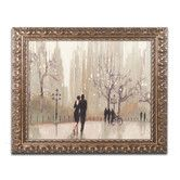 Found it at Wayfair - 'An Evening Out Neutral' by Julia Purinton Framed Painting Print