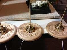 Jocelyn's Mountfield Dollhouse: Coffee Shop Ceiling Medallions
