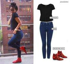 Jessica Caban. Those shoes though.*sigh*