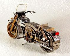 motorcycle from watch parts