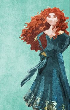 Princess Merida from Brave Disney Pixar, Disney Animation, Deco Disney, Disney Songs, Disney And Dreamworks, Disney Kunst, Arte Disney, Disney Fan Art, Disney Love