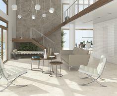 ARCANA Tiles | Buxi-R 60x120 cm. | Arcana Cerámica | cozy places | interior design | indoor | porcelain tiles Me Time, Style Tile, Minimalist Living, Interiores Design, Wall Tiles, House Tours, Tile Floor, Relax, Dining Table