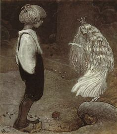 The Seven Wishes by John Bauer