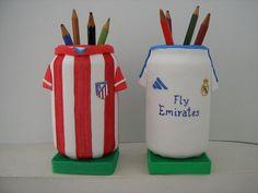 Camiseta futbol - Porta Lápices www.fofuchasbell.es