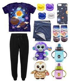 """Space Day (ddlg/ddlb/cgl)"" by transboyfanboy ❤ liked on Polyvore featuring FeFè and Joovy"