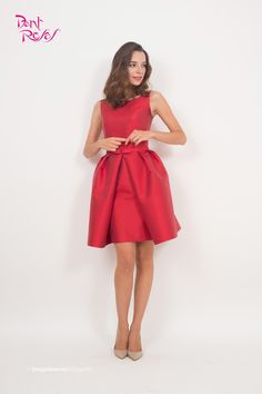 Red look - Modelo de alta costura de @DantRosas de la colección 2015/2016  Model couture collection Dant Rosas 2015/2016