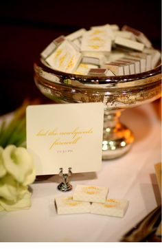 Creating Matchbook Covers For Your Wedding Is Simple With The Xyron Sticker Machine | Style Me Pretty